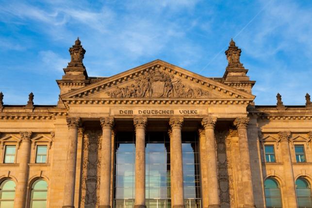 בניין הפרלמנט הגרמני - הבונדסטאג