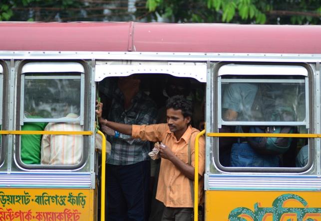 אוטובוס בדרך לדלהי. אילוסטרציה