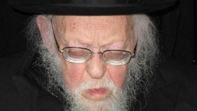 מרן הרב אלישיב (צילום: ארכיון כיכר השבת)
