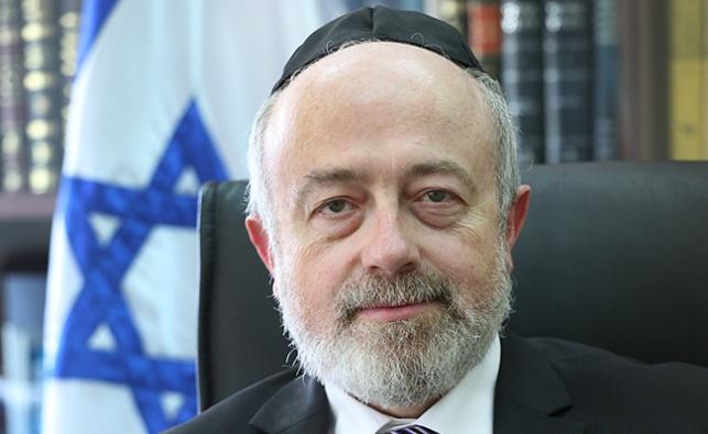 """ישר מנכ""""ל בתי הדין, הרב שמעון יעקבי"""
