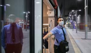אילוסטרציה. רכבת ישראל בקורונה
