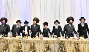 הרב של ספינקא בירושלים, חגג בר מצווה לבנו