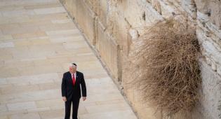 מייק פנס בכותל, ארכיון - פנס: נס תחיית ישראל מהווה השראה לעולם