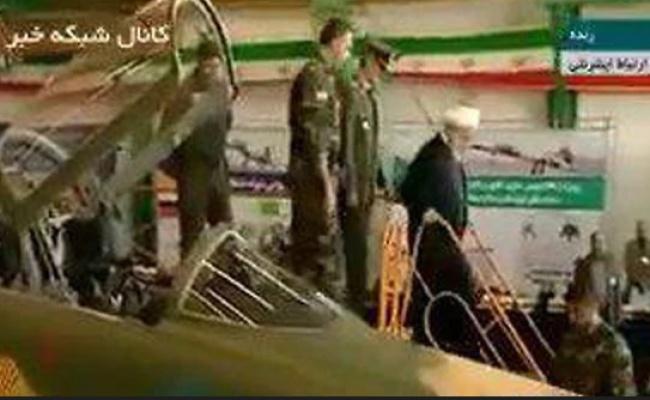 איראן הציגה את מטוס הקרב החדש שלה
