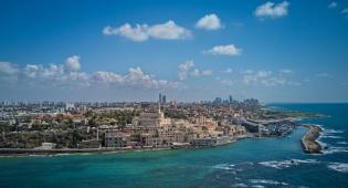 תל אביב - יפו, במבט מדהים מהאוויר • צפו