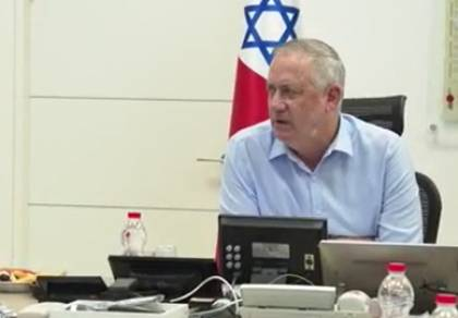"""גנץ הציג: היעדים של צה""""ל במאבק בקורונה"""
