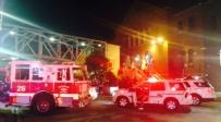 זירת האירוע - תאונת רכבת בפילדלפיה: 33 נוסעים נפצעו