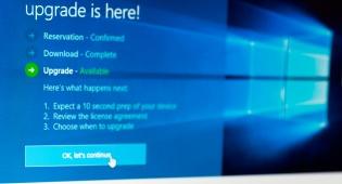 עדכון גרסה חדש למערכת 'windows 10'