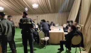 כוח משטרה בחתונה, אמש