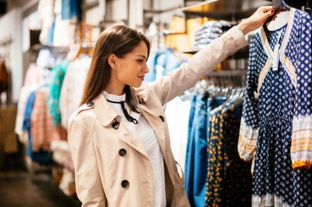 למדוד בגדים בלי לטעות