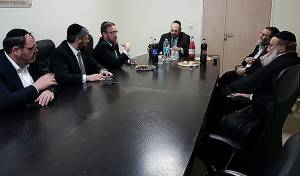 פגישת גפני, הרב סולובייצ'יק והנציגים - דרישת 'דגל' מברקת: סעיף מיוחד בתקציב