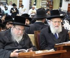 הרבי מבעלזא השתתף בסליחות ב'אור החיים'