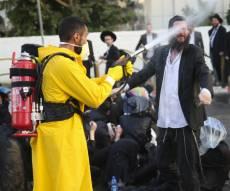 הפגנות הפלג בבני ברק, בשבוע שעבר