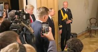 """פוטין וטראמפ נפגשו: """"ביטחון ישראל יובטח"""""""