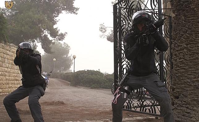 משטרת ירושלים ערכה תרגיל נרחב • צפו