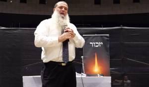 הרב יגאל כהן בהרצאה על השואה והגבורה