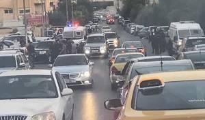 סמוך לשגרירות ישראל בירדן, אמש - שוטרים ירדנים לחרדים: 'אסור לכם להתפלל'