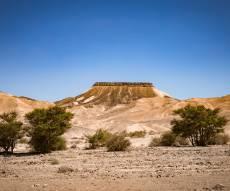 טיול מצולם לנוף המרהיב של מכתש רמון