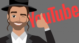 לדמות המאויירת אין קשר לכתבה - מצעד הסרטונים החרדים הכי מצחיקים ביוטיוב
