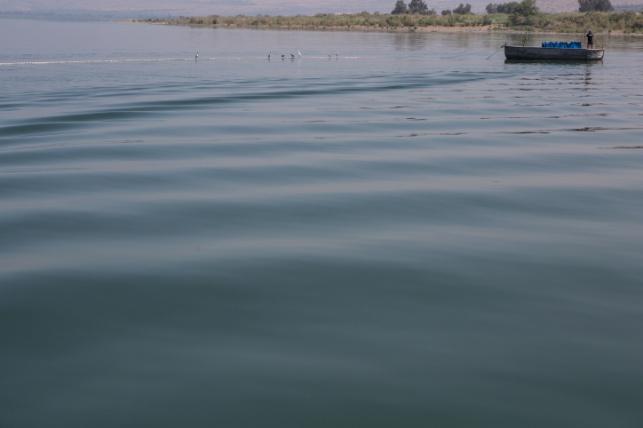 דייגים ליד קיבוץ עין גב