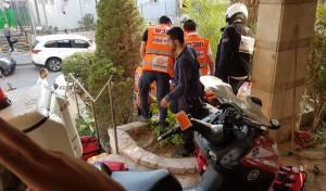 בן 60 נפל מגדר ברחוב ונפצע באורח בינוני