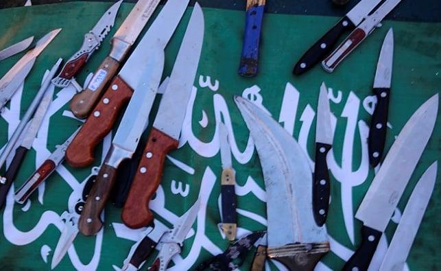 סכינים, ארכיון