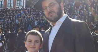 """הרב קריצ'בסקי ובנו בכינוס שלוחי חב""""ד בברוקלין השבוע"""