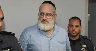 יהושע אליצור בבית המשפט, היום - ירה בערבי ונמלט: 15 שנות מאסר לאליצור