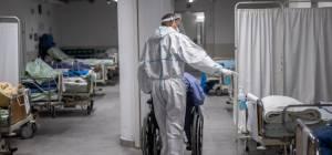 מחלקת הקורונה בבית החולים הרצוג