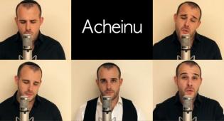 מורדי ויינשטיין בסינגל קליפ ווקאלי  - 'אחינו'