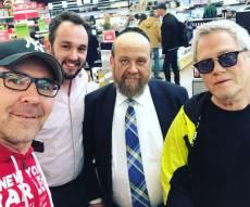 שלמה ארצי, נחשוני, גיל ולפידות - העיתונאים החרדים ריגשו את שלמה ארצי