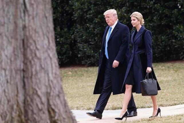 טראמפ ובתו