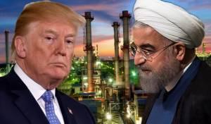 """נשיא איראן רוחאני ונשיא ארה""""ב טראמפ"""