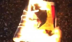 לבנון שוב סוערת; תמונת נסראללה נשרפה