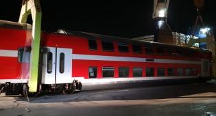 צפו: כך קולטים קרונות חדשים ברכבת ישראל