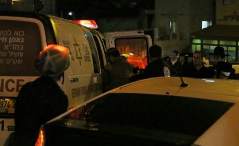 חייל הותקף בבית ישראל והוברח באמבולנס