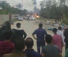 זירת הפיצוץ - פיצוץ מסתורי בעזה: שבעה פלסטינים נהרגו