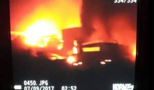 """זירת התקיפה לכאורה - צבא סוריה: """"יהיו השלכות חמורות לתקיפה"""""""