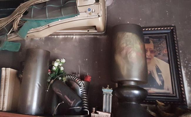 """תמונת מרן הגר""""ע יוסף ששרדהנ את השריפה - הכבאים הופתעו: תמונת הגר""""ע יוסף שרדה"""