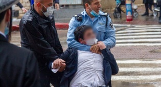 אחד המעצרים בבני ברק