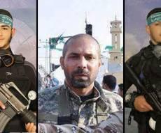 """בכירי חמאס וג'יהאד איסלאמי שנהרגו - צה""""ל מתנצל: לא התכוונו לפגוע בבכירים"""