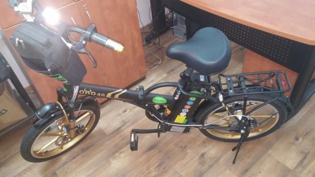 אחד מהאופניים הגנובים