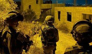 החיילים בפעולה הלילה