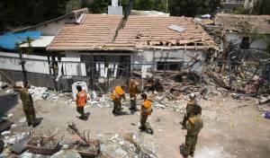 הירי מהרצועה גרם נזק ל-522 בתים בישראל