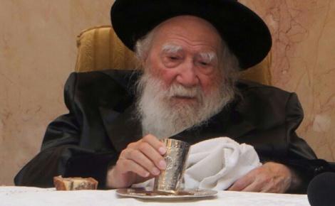 """כ""""ק האדמו""""ר מערלוי - הרבי מערלוי לחסידיו: קראו פרקי תהילים"""