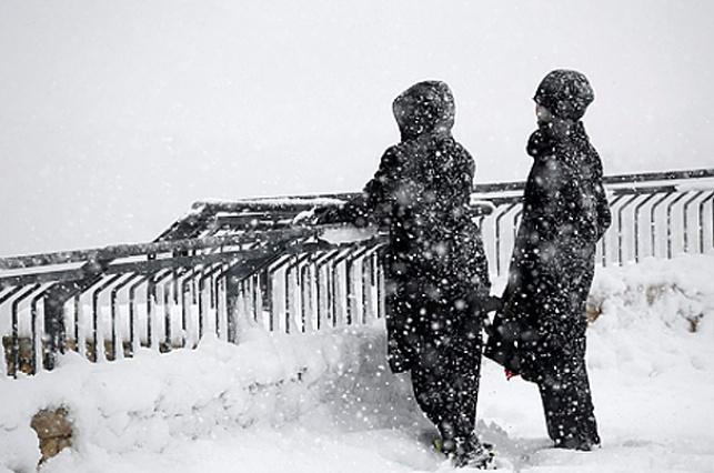 שלג בירושלים. ימשיך לרדת גם ביממה הקרובה