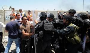 חיילים בעימותים עם פלסטינים