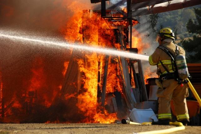 תוצאות השריפות: סיכון לשבץ מוחי
