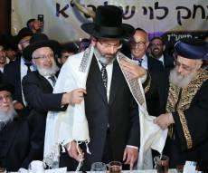 הגאון רבי יצחק לוי מוכתר לרבה של נשר - הרב יצחק לוי הוכתר לרבה של העיר נשר