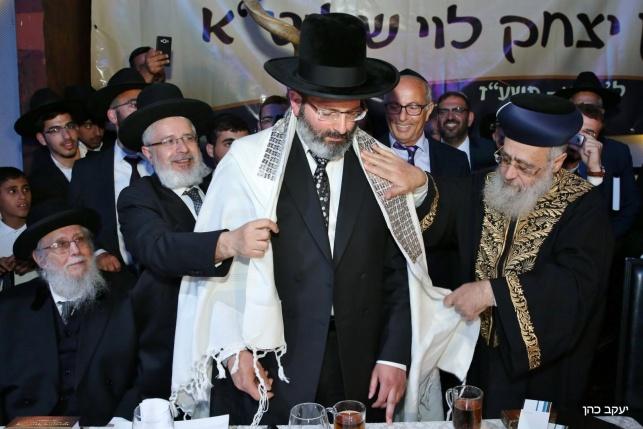 הגאון רבי יצחק לוי מוכתר לרבה של נשר